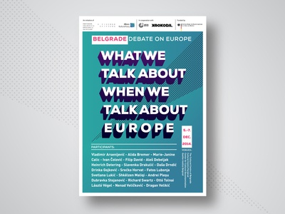 What we talk about when we talk about Europe - Poster Design