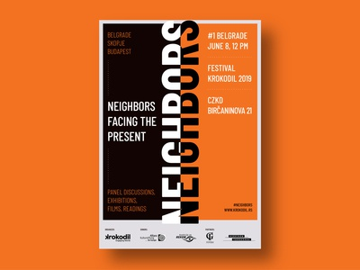 Neighbours - Facing The Present - Poster Design