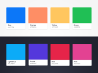 Shoutabout Color Palette