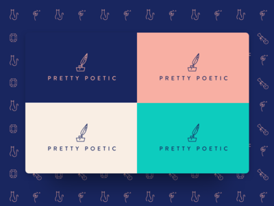 Logo and color pallet color pallet icon logo identify branding