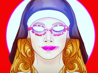 Personal Nun dev indie game art illustration characterdesign