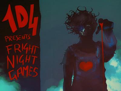 FrightNightGames illustration gamedev gameart creepy scary horror