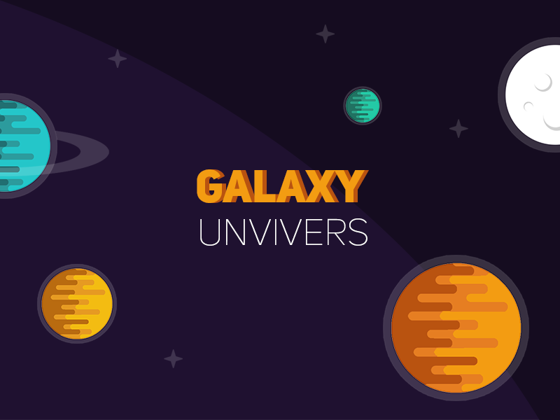 Galaxy Univers planet space univers galaxy