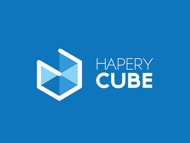 Hapery Cube cube hapery logo