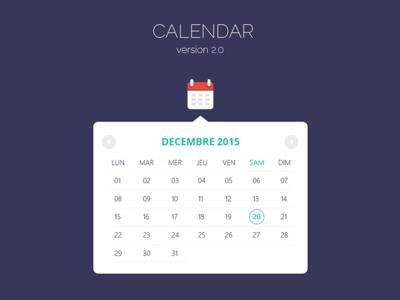 Calendar v2.0