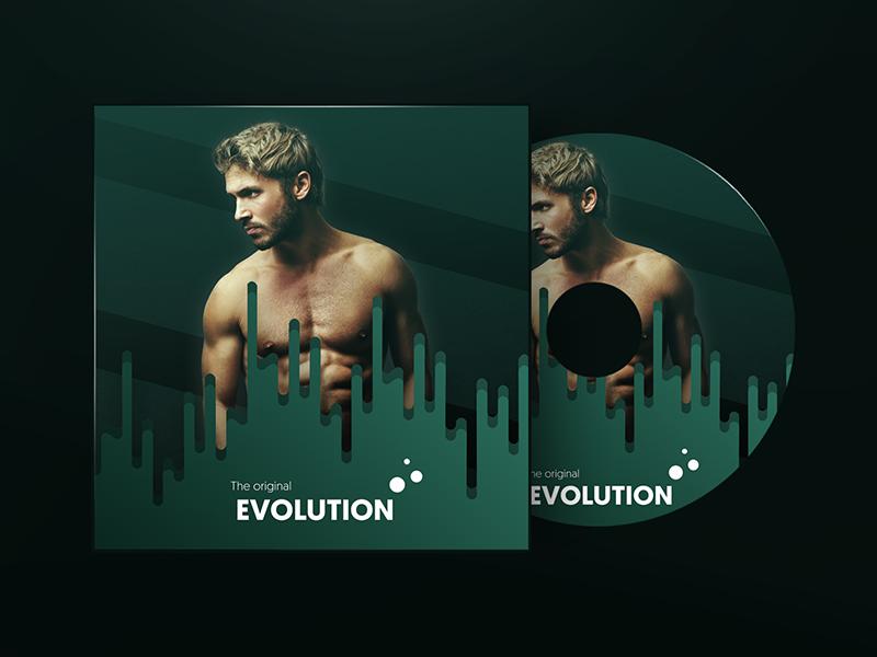 The orignal Evolution (Album Cover) art album evolution cover original