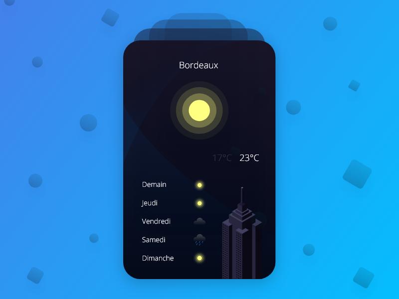 Weather App ux ui app weather