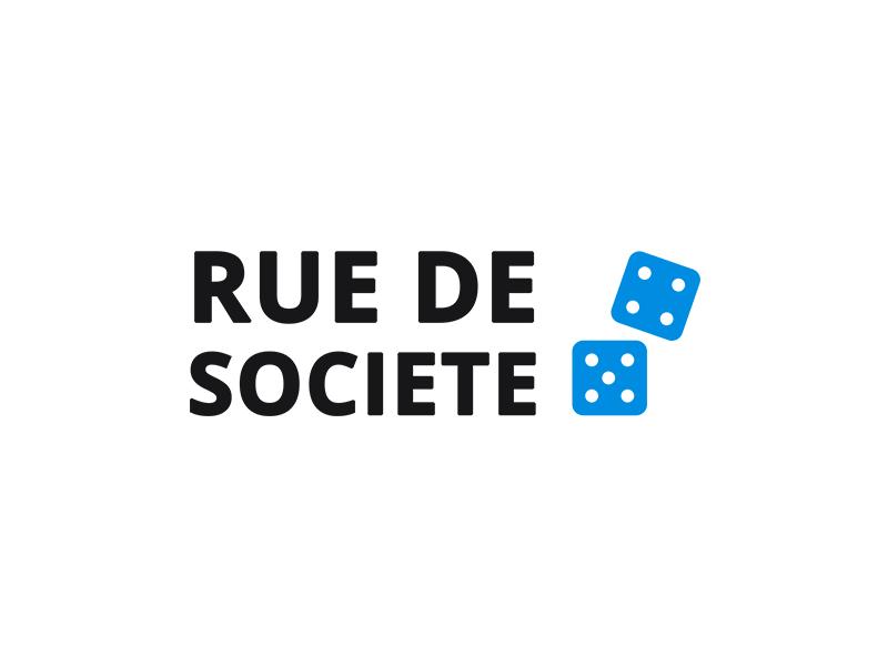 Rue de société logo
