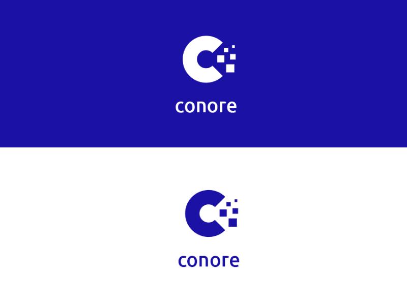 Conore logo golden ratio logo conore