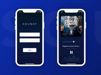SOUNDY Music App