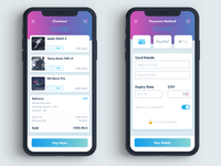 UI Mobile Checkout Flow