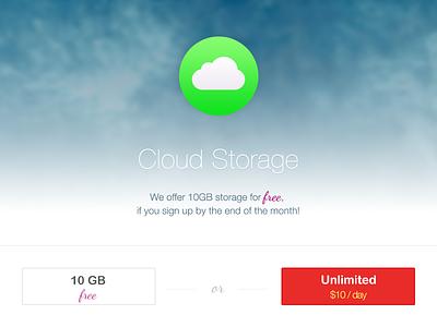 Cloud Storage just for fun storage cloud sky