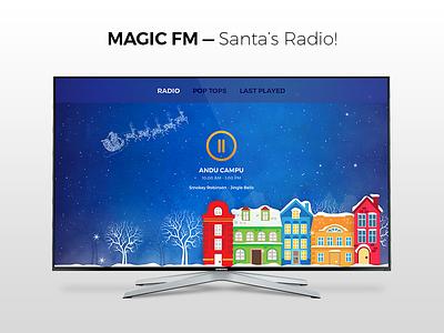 Magic FM for  TV radio dashboard fm magic tvos app