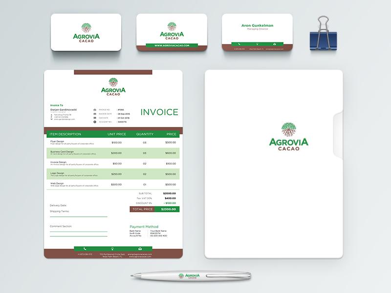 Agrovia stationery
