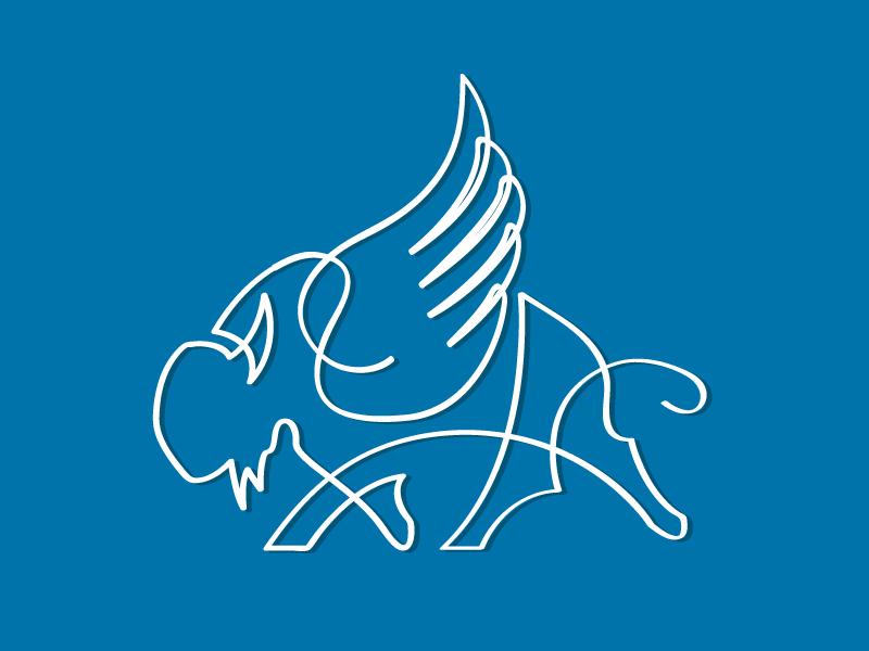 Buffalo illustration buffalo