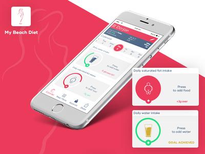 My Diet App 800x600
