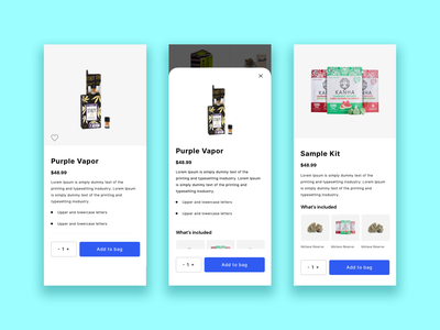 Casa Product Page