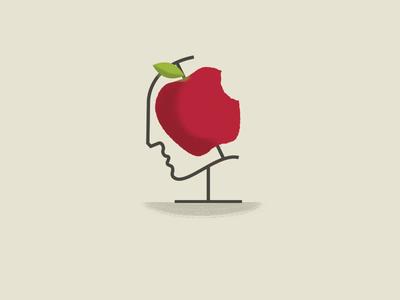 Newton conceptual illustration conceptual art apple newton art illustration conceptual