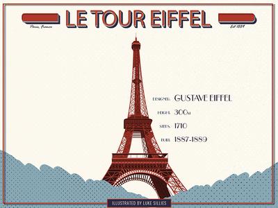 Eiffell Tower illustration