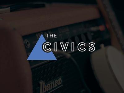 The Civics | Concept 2 local music band logo logo music bands branding