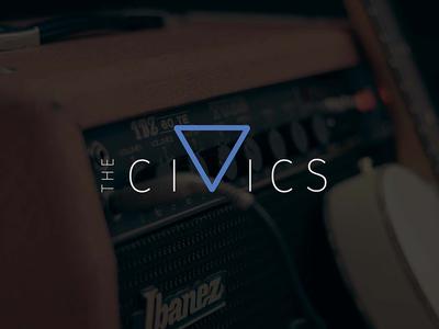 The Civics | Concept 3 music local music brand identity branding band band logo