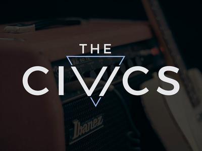 The Civics | Final Logo band brand identity music local music brand band logo