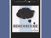 The Civics, Remember Me Single | Concept 1