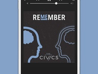 The Civics, Remember Me Single | Concept 2