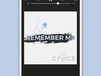 The Civics, Remember Me Single | Concept 3
