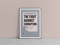 The Fight Against Corruption, Poster
