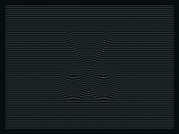 Line Distortion Logo