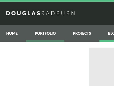 Portfolio portfolio blog navigation footer article post