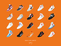 Sneakers-OFF_WHITE x NIKE