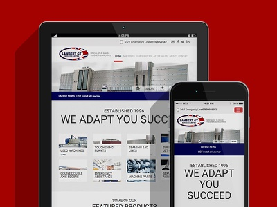 Lamberts GT branding digital design ui ux planning information architecture