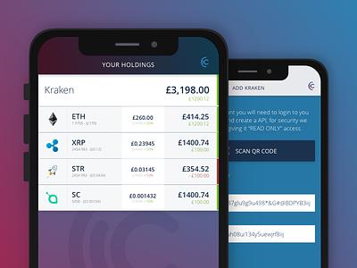 Crypto Keeper crypto app design ux ui