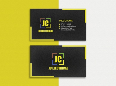 Professional business card design 03