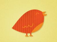 Cute bird..