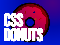 CSS Donuts