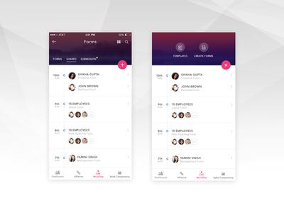 Enterprise App UI - Forms