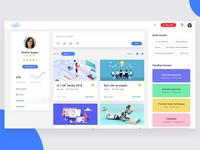 Education Portal UI/UX - Courses