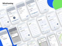 Wireframing - Healthcare