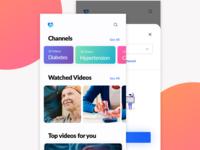 Channels - Videos UI/UX