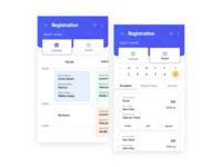 Registration UI/UX