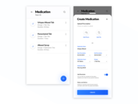 Healthcare - Medication UI/UX