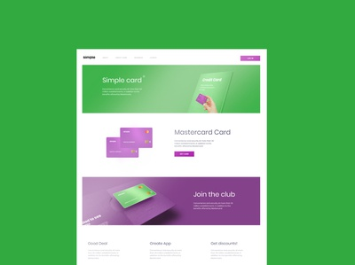 Simple web page