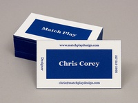 Match Play Business Cards