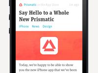 New Prismatic