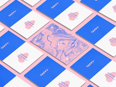 Taffy Co Business Cards branding business cards logo brand design