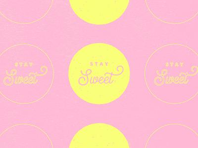 Stay Sweet - Taffy Co graphic design logo brand design