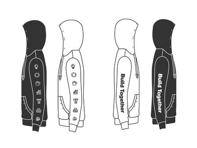 Product Zip Up brand merch product shirt design zip up